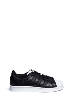 Main View - Click To Enlarge - Adidas - 'Superstar' sequin sneakers