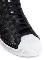 'Superstar Up' sequin high top sneakers