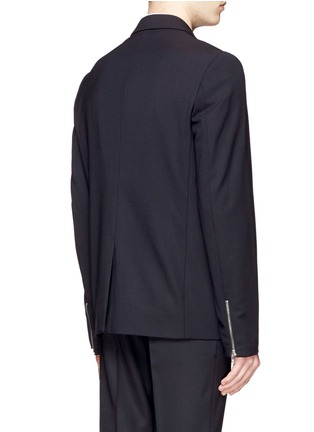 Back View - Click To Enlarge - McQ Alexander McQueen - 'Ghosting Curtis' double lapel blazer