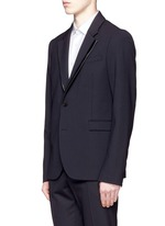 'Ghosting Curtis' double lapel blazer