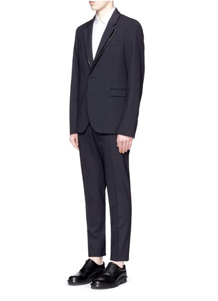 Figure View - Click To Enlarge - McQ Alexander McQueen - 'Ghosting Curtis' double lapel blazer