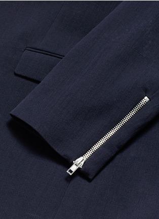 McQ Alexander McQueen-'Curtis' notch lapel cotton blazer