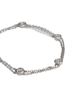 LC COLLECTION JEWELLERY Diamond 18k white gold bracelet
