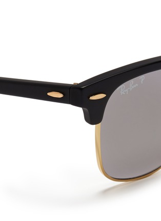 Detail View - Click To Enlarge - Ray-Ban - Clubmaster plastic brow bar sunglasses