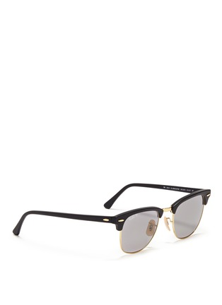 Figure View - Click To Enlarge - Ray-Ban - Clubmaster plastic brow bar sunglasses