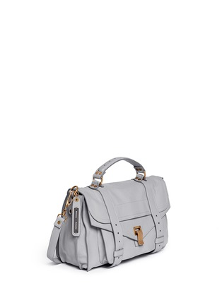 Front View - Click To Enlarge - Proenza Schouler - 'PS1' medium leather satchel