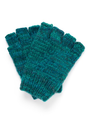 Main View - Click To Enlarge - THE ELDER STATESMAN - Cashmere fingerless gloves
