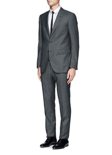 LANVINHerringbone wool suit