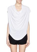 HELMUT LANGCowl neck jersey T-shirt