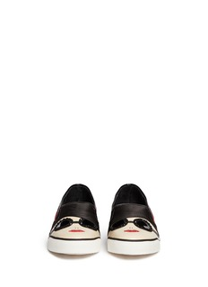 ALICE + OLIVIA 'Stacey' face slip-ons