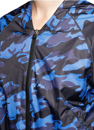 Detail View - Click To Enlarge - Topshop - Camouflage print performance jacket