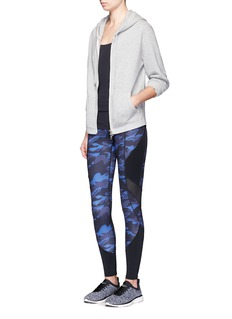 Ivy Park Camouflage print performance leggings