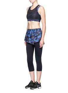 Ivy Park Camouflage print running shorts