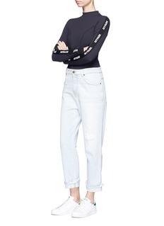 Ivy Park Logo trim ribbed bodysuit