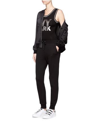Figure View - Click To Enlarge - Ivy Park - Metallic logo print bodysuit