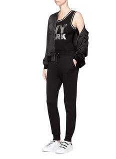 Ivy ParkMetallic logo print bodysuit