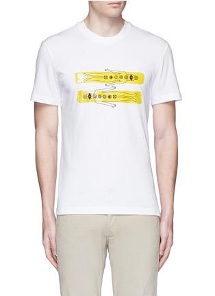 Main View - Click To Enlarge - adidas By Pharrell Williams - Chakra print T-shirt