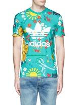 'Doodle' print Climalite® jersey T-shirt