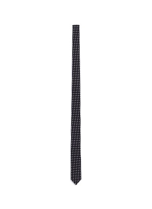 Main View - Click To Enlarge - Saint Laurent - Star print skinny tie