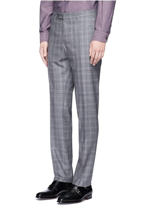 Detail View - Click To Enlarge - Canali - 'Contemporary' Glen plaid wool suit