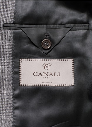 - Canali - 'Contemporary' Glen plaid wool suit