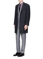 'Contemporary' Glen plaid wool suit