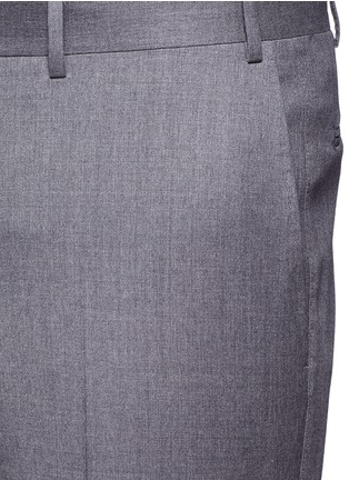Detail View - Click To Enlarge - Canali - Wool pants