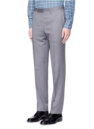 Front View - Click To Enlarge - Canali - Wool pants