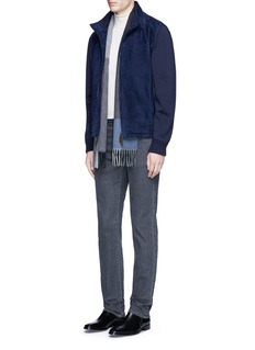 Canali Straight leg cotton jeans