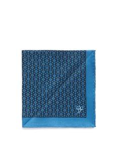 CanaliDiamond print silk pocket square