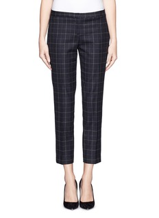 THEORY 'Item' check pants