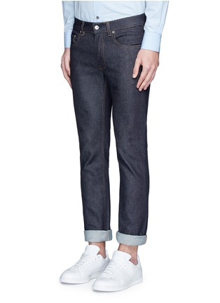 Front View - Click To Enlarge - Acne Studios - 'Ace Stretch Raw' skinny jeans