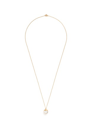 Main View - Click To Enlarge - Obellery - 'Fruity' 18k yellow gold plated freshwater pearl pendant necklace