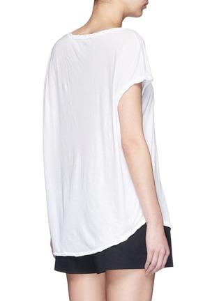 背面 - 点击放大 - JAMES PERSE - 单色纯棉上衣