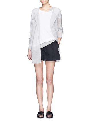 模特儿示范图 - 点击放大 - JAMES PERSE - 单色纯棉上衣