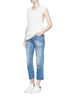 JAMES PERSE Web jersey shell top
