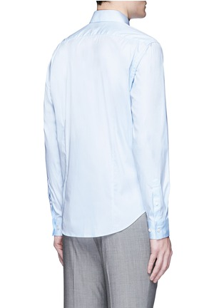 Back View - Click To Enlarge - Theory - 'Sylvain' point collar shirt
