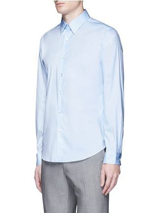 Front View - Click To Enlarge - Theory - 'Sylvain' point collar shirt