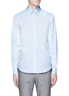 Theory'Sylvain' point collar shirt