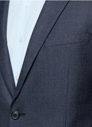 Detail View - Click To Enlarge - Theory - 'Rodolf' wool-silk nailhead blazer