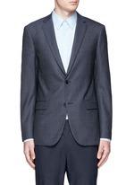 'Rodolf' wool-silk nailhead blazer