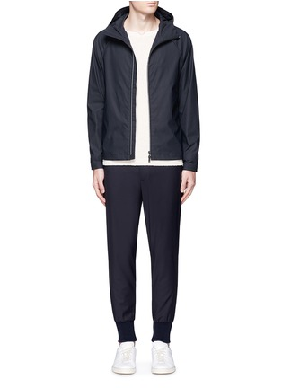 Figure View - Click To Enlarge - Theory - 'Channing' elastic trim jacket