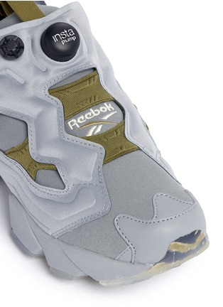 Detail View - Click To Enlarge - Reebok - 'Instapump Fury OG' slip-on sneakers