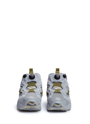 Front View - Click To Enlarge - Reebok - 'Instapump Fury OG' slip-on sneakers