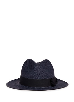 首图 - 点击放大 - SENSI STUDIO - 蝴蝶结帽带巴拿马草帽