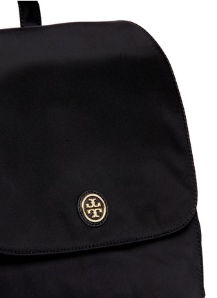 Detail View - Click To Enlarge - Tory Burch - Travel nylon baby backpack
