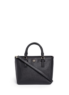 TORY BURCH 'Robinson' mini leather tote