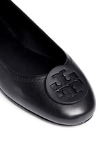 'Minnie Travel' leather ballet flats