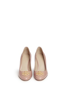 TORY BURCH 'Raleigh' leather wedge pumps