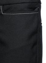 'Mazur' inseam stitch kick flare pants